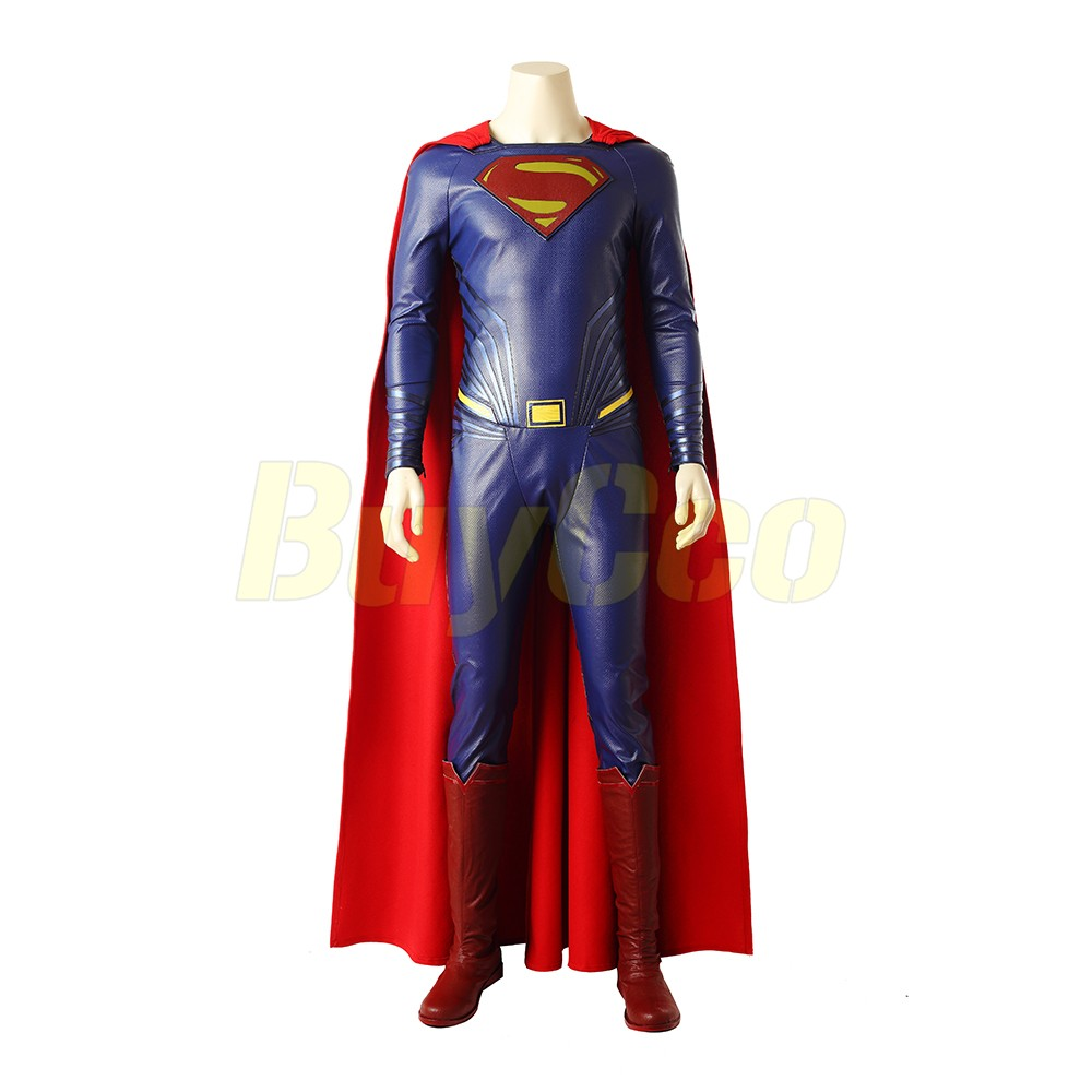 Superman Clark Kent Cosplay Costume Justice League Edition