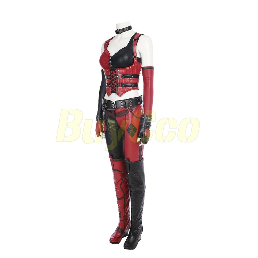Harley Quinn Cosplay Costume BatMan Arkham City Edition