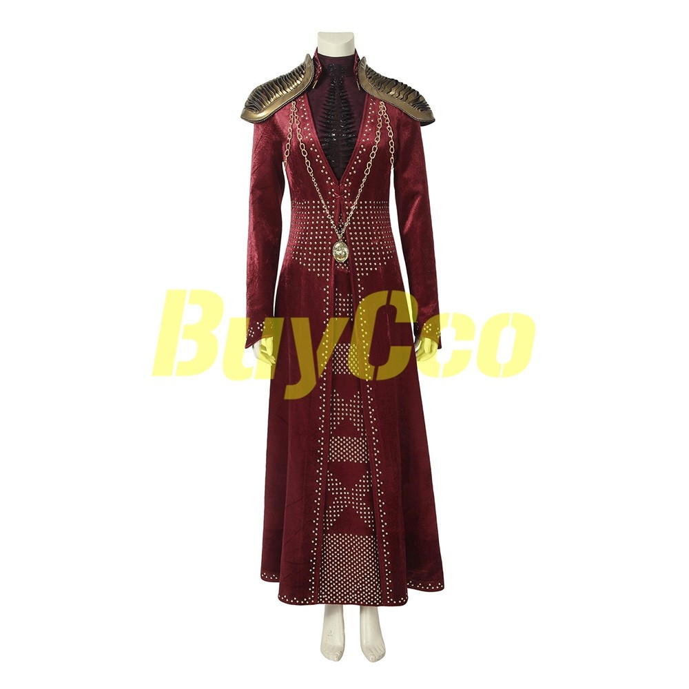 Queen Cersei Lannister Cosplay Game of Thrones Costume Fancy Dress Outfits Suits