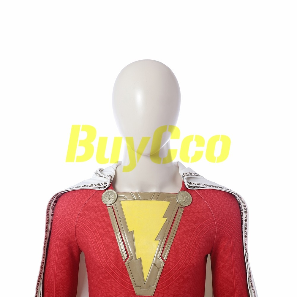 Shazam Cosplay Costume Shazam Billy Batson Suit xzw092601