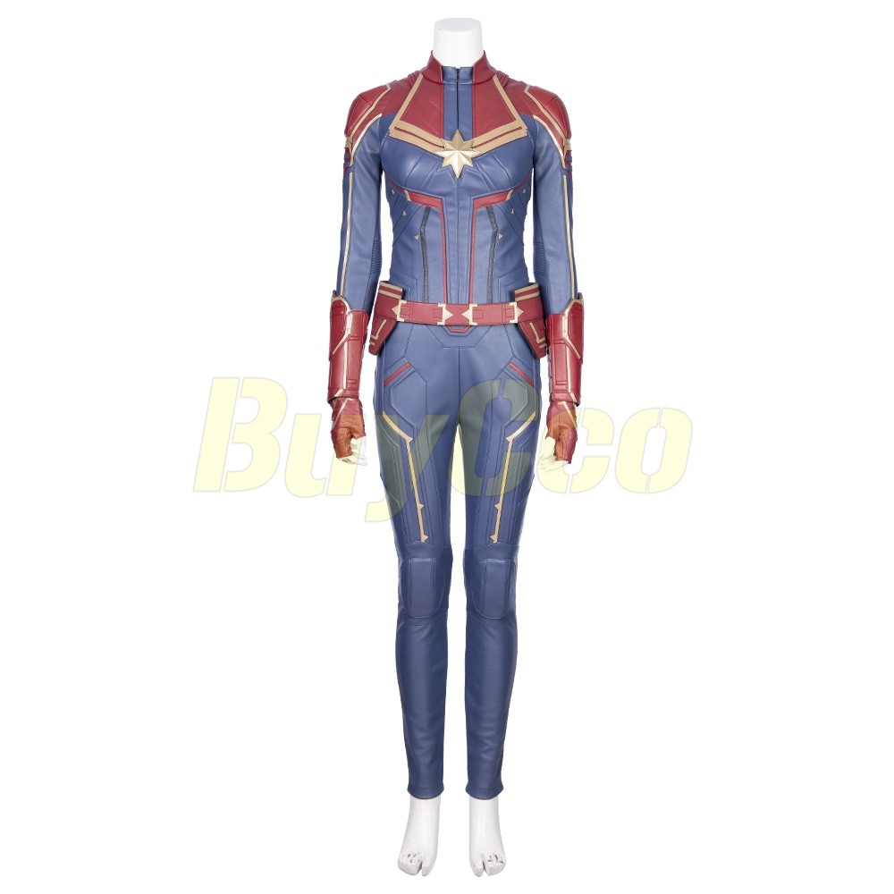 Captain Marvel Costume Avengers Endgame Carol Danvers Cosplay Xzw1800166 Robyn beck/afp via getty images. captain marvel costume avengers endgame carol danvers cosplay xzw1800166
