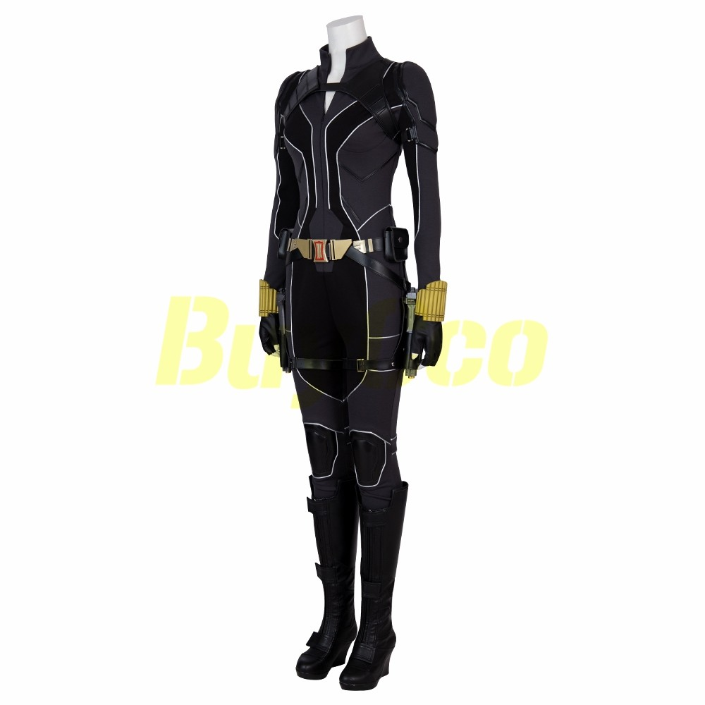 Natasha Romanoff Black Widow 2020 Cosplay Costume ...