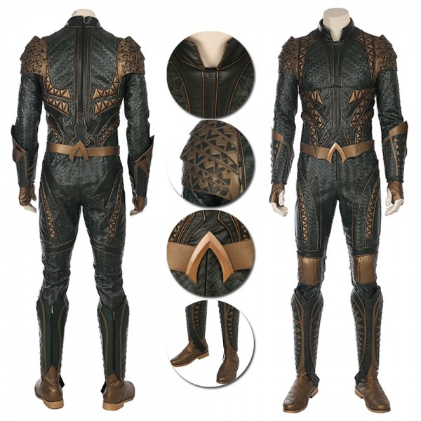 Aquaman Cosplay Costume Justice League Arthur Curry Costumes
