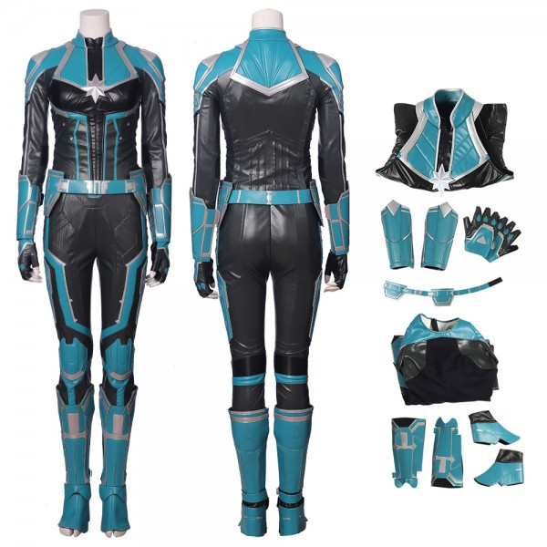 Captain Marvel StarForce Cosplay Costumes xzw1802177