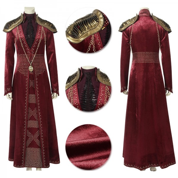 Cersei Suit Game of Thrones Cersei Lannister Cosplay Royal Dress