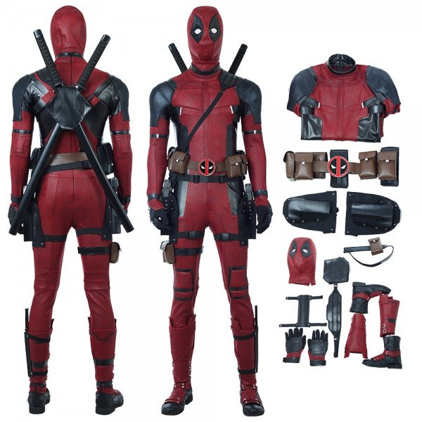 Deadpool Cosplay Costume Deadpool Wade Wilson Costume xzw1800159