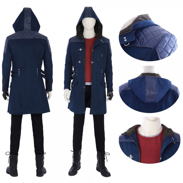 Nero Cosplay Costume Devil May Cry 5 Nero Jacket xzw1800180