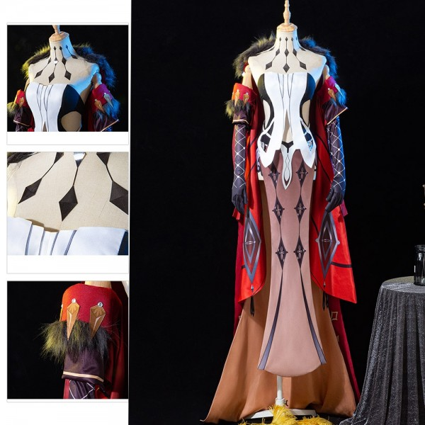 Genshin Impact Cosplay Costumes Signora Cosplay Suits Top Level Edition