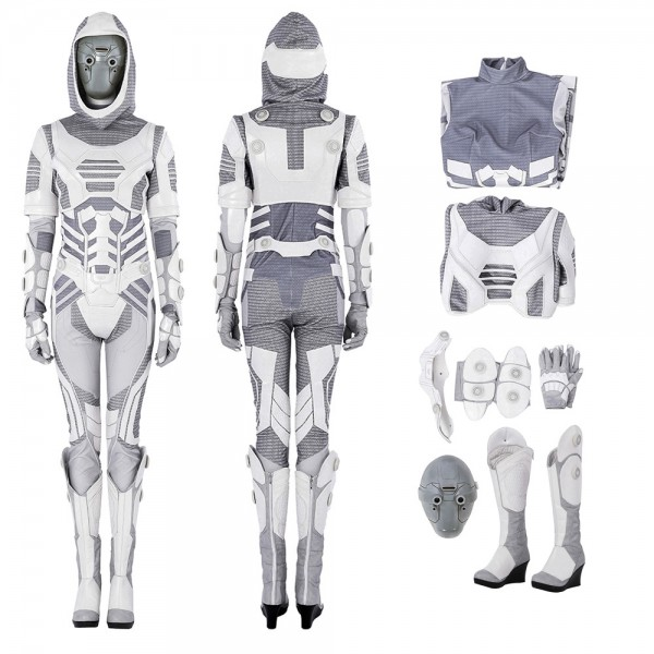 Ghost John Morley Cosplay Costume Ant-Man 2 Costumes xzw1800171