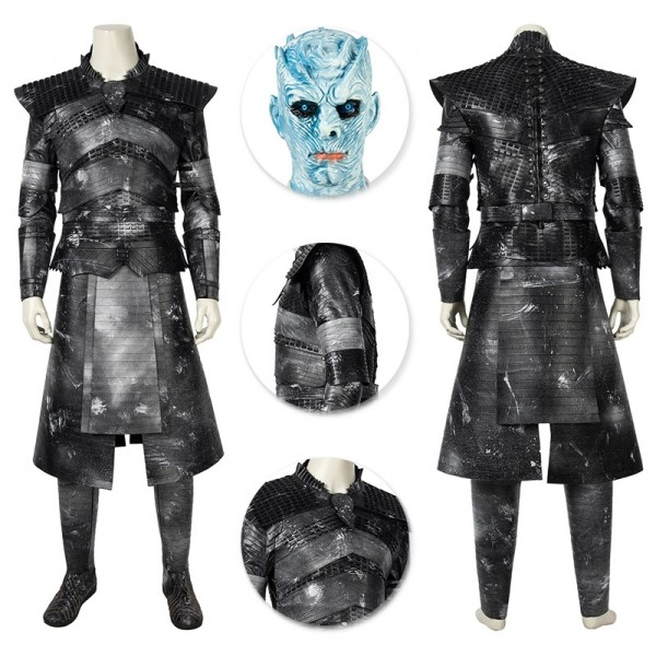 GOT S8 Night King Suit Halloween Cosplay Costumes