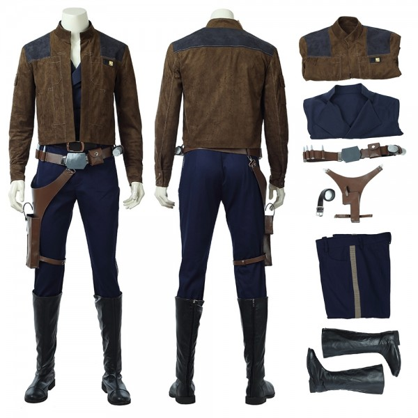 Han Solo Cosplay Costume Solo A Star Wars Story Costumes