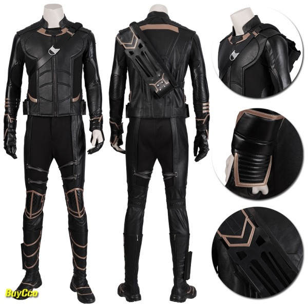 Hawkeye Cosplay Costume Avengers Endgame Clinton Barton Suits xzw2190415