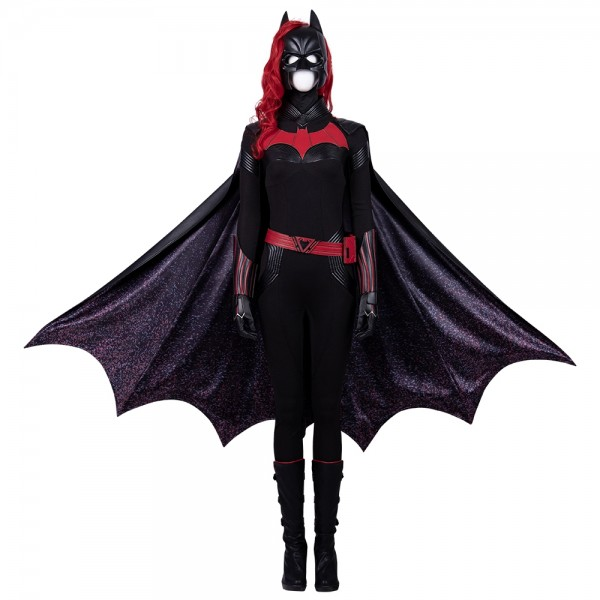Batwoman Cosplay Costumes New Kate Kane Cosplay Black Suit Xzw190296