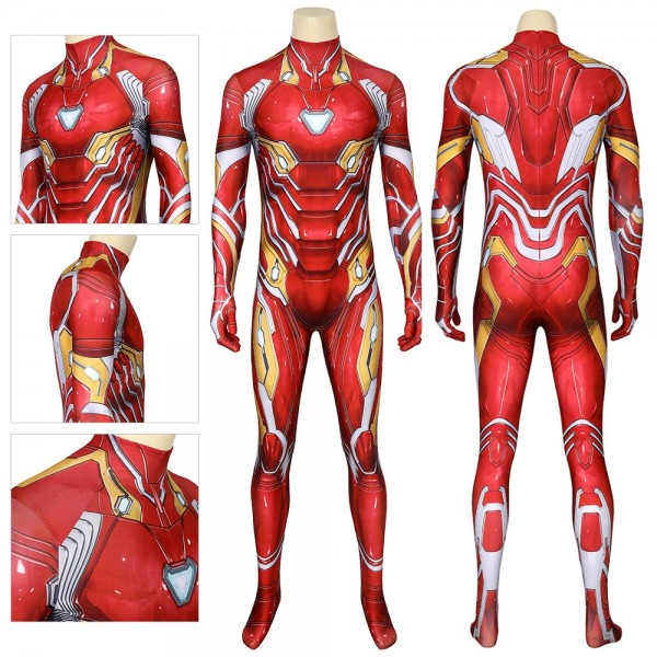 Iron-man Costume The 3D Printed Iron man Spandex Cosplay Suit