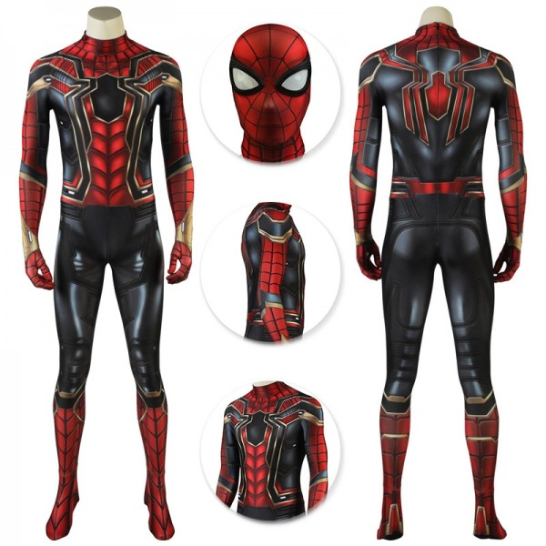 Iron Spider Cosplay Suit Avengers Spider-man Cosplay Costume