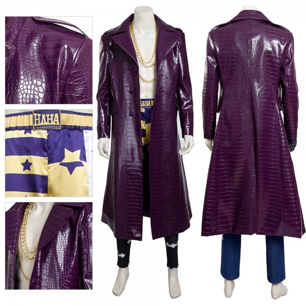 Joker Cosplay Costume Suicide Squad Jared Leto Cosplay xzw180097