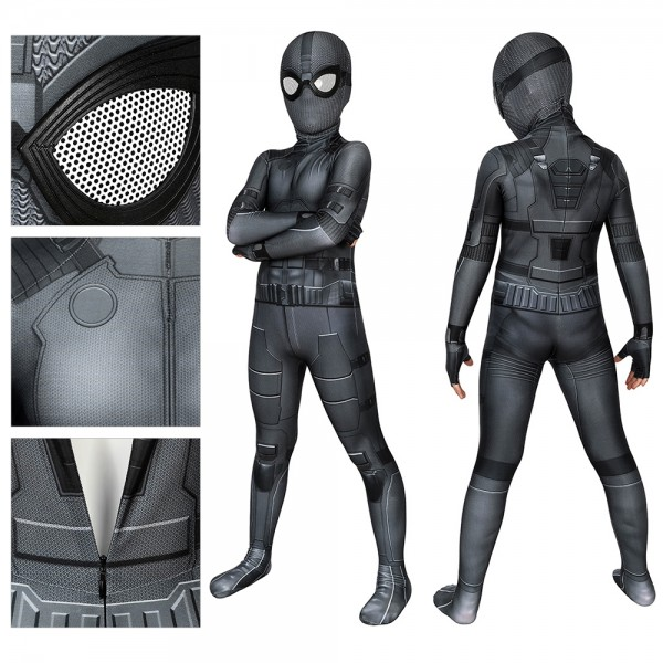 Kids Spider-man Cosplay Suit Spider-man Night Monkey Cosplay Costume