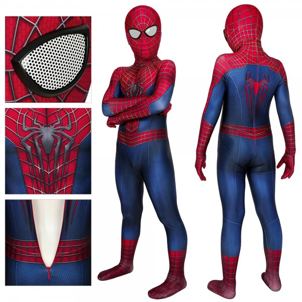 Kids Spider-man Cosplay Suit Spider-man Dress up Cosplay Costume