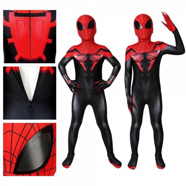 Kids Suit Superior Spider-Man Cosplay Costume
