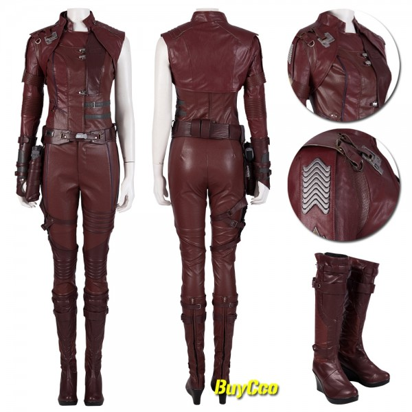 Nebula Cosplay Costume Avengers Endgame Nebula Suits xzw190271