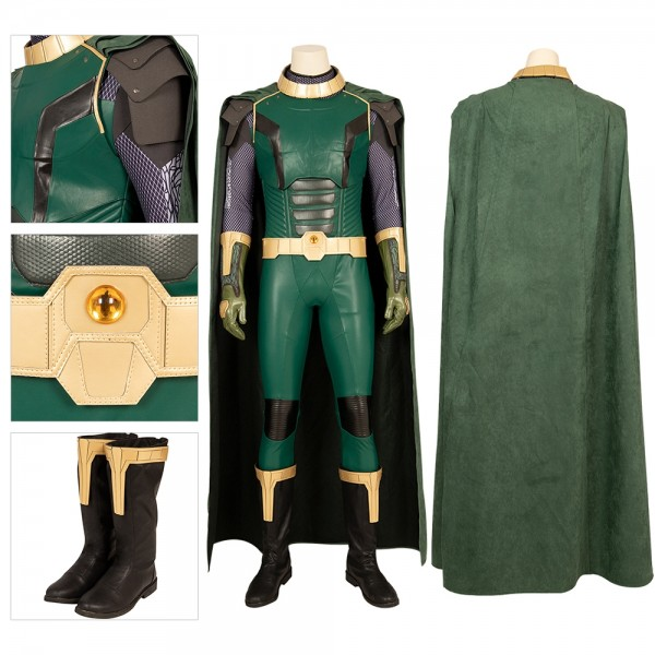 Pariah Cosplay Suits Crisis On Infinite Earths Artificial Leather Costumes