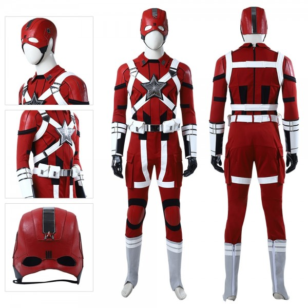 Red Guardian Cosplay Costumes Black Widow 2020 Cosplay Edition