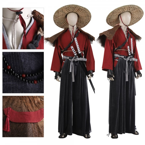 Samurai Cosplay Costumes Ghost of Tsushima Cosplay Suit