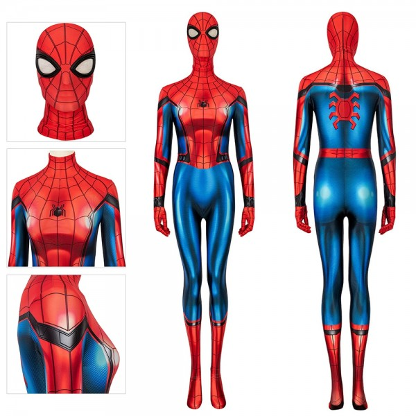 Spider-Man Far From Home Cosplay Costume Spider-Man Peter Parker Cosplay Suit For Ladies
