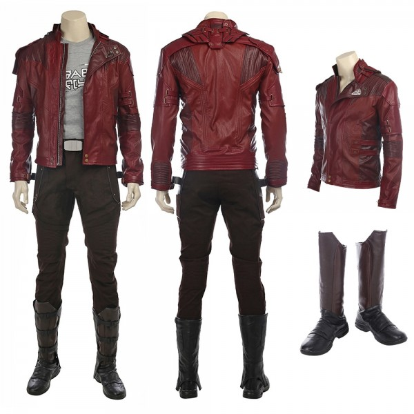 Star Lord Costume Guardians of The Galaxy Peter Quill Cosplay