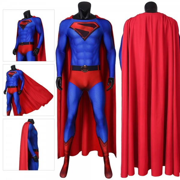 Superman Cosplay Costumes Crisis on Infinite Earths Cosplay Suit