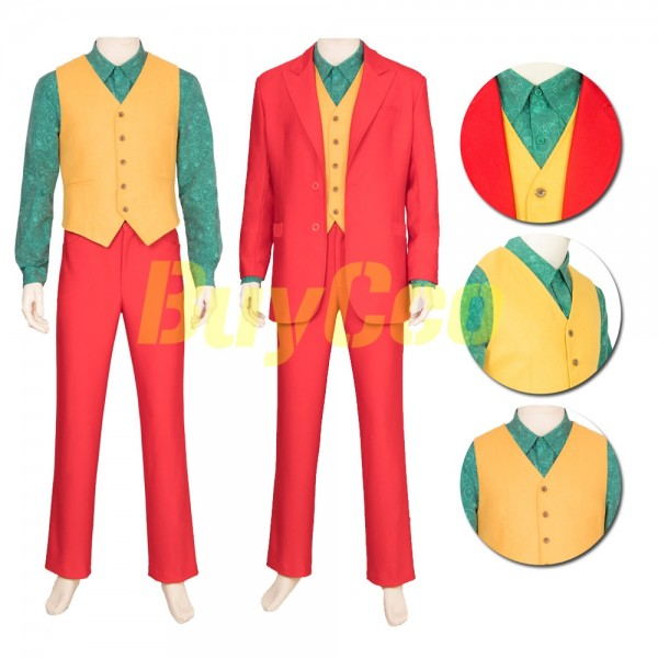 The Joker Origin Arthur Fleck Cosplay Costume xzw190259