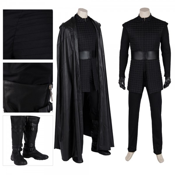 Star Wars The Rise Of Skywalker Kylo Ren Cosplay Costume xzw190281