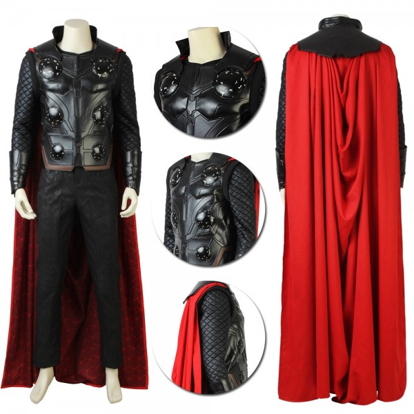 Thor Costume The Asgardian God Of Thunder Cosplay Suit
