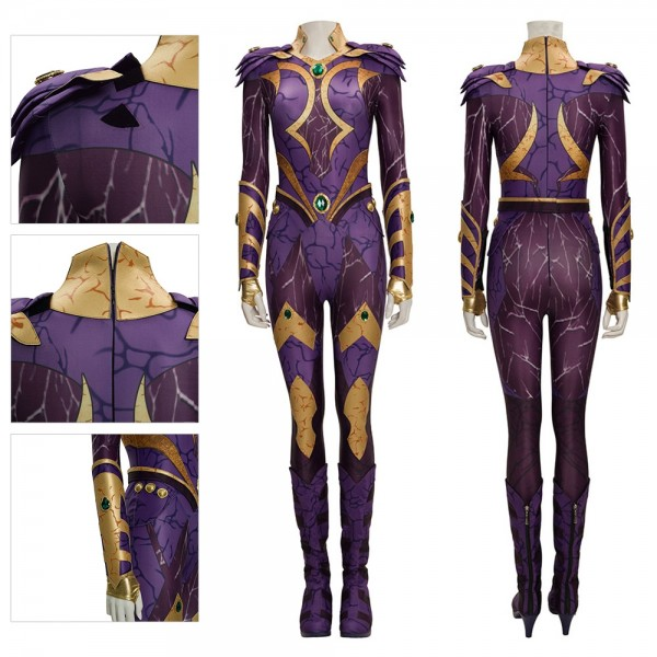Titans Cosplay Costume Titans Starfire Cosplay Suit Top Level Edition