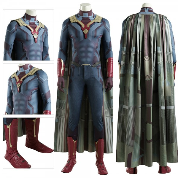 Vision 3D Printed Cosplay Costume WandaVision Cosplay Suit