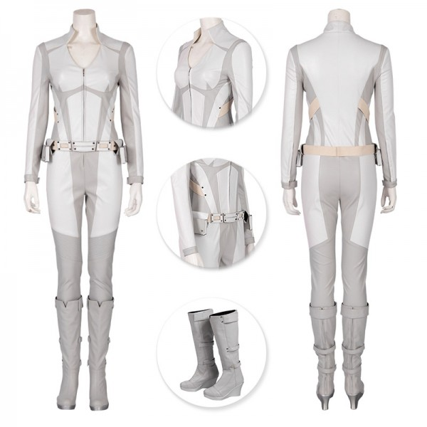White Canary Sara Lance Cosplay Costume Legends of Tomorrow Cosplay Outfits