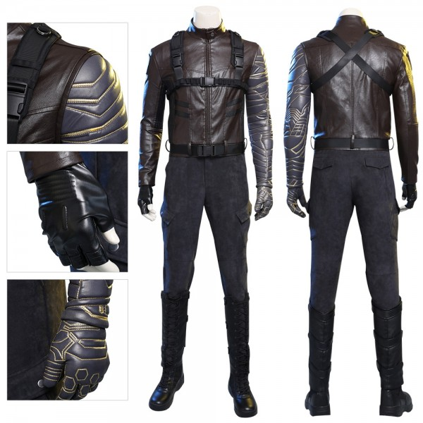 Winter Soldier Suit 2020 New Winter Soldier Bucky Barnes Cosplay Costume