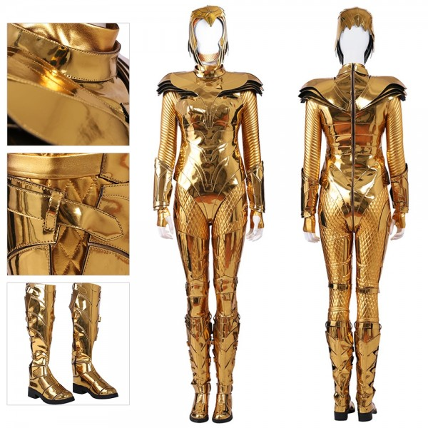 Wonder Woman 1984 Golden Eagle Suit WW1984 Cosplay Costume