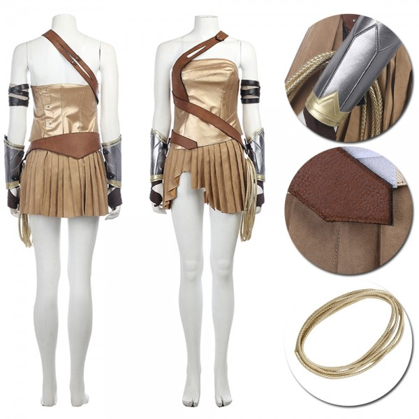 Wonder Woman Cosplay Costume Amazonian Warrior Costume xzw1800192