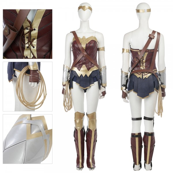 Wonder Woman Cosplay Costume Diana Prince Costumes xzw1800116