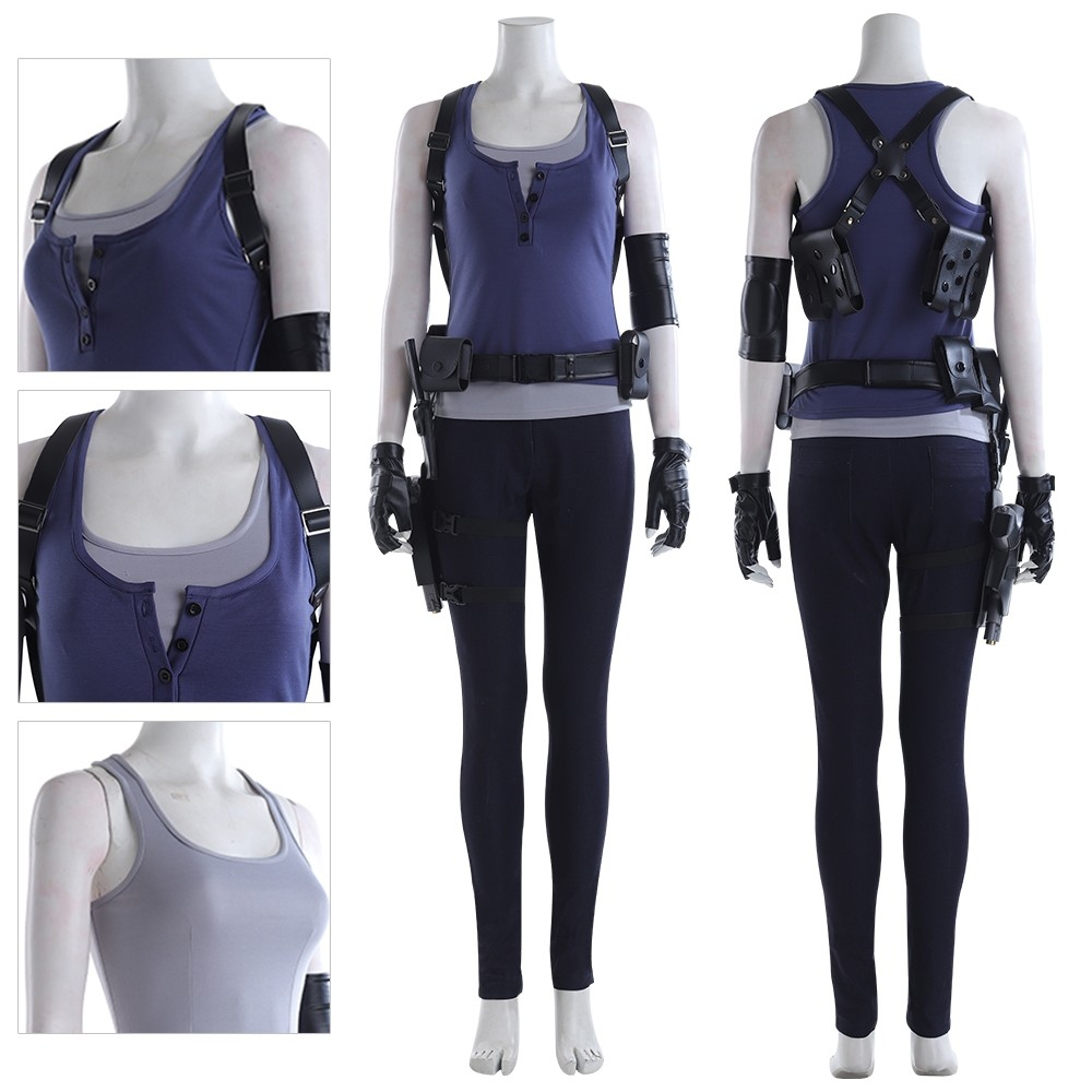 Jill Valentine Cosplay Costumes Resident Evil 3 Suits