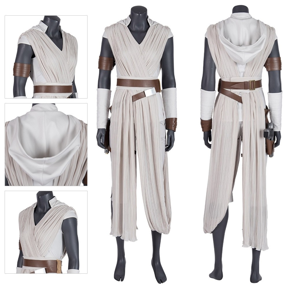 Star Wars The Rise Of Skywalker Rey Cosplay Costume Xzw190282