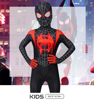 Kids Spider-man Cosplay Costumes